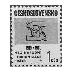 1743. 50. výročí Mezinárodní organizace práce,**,