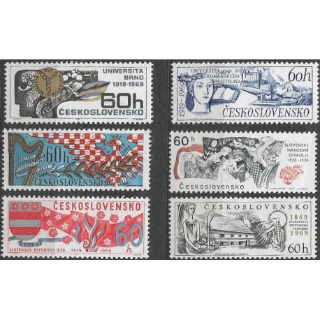 1750- 1755./6/, Významná výročí,**,
