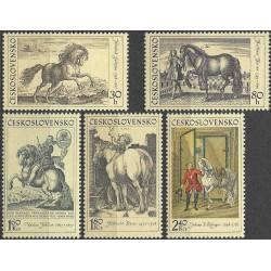 1760- 1764./5/, Jezdectví na starých rytinách,**,