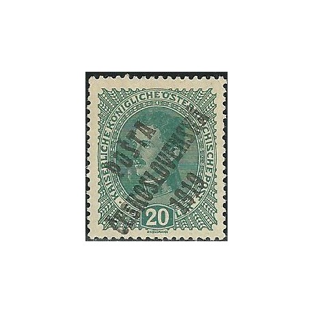 39. /222.- rakouské zn. Císař Karel I.,**,