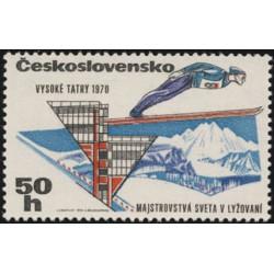 1804.- Mistrovství světa v lyžování ve Vysokých Tatrách 1975,**,