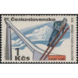1806.- Mistrovství světa v lyžování ve Vysokých Tatrách 1975,**,