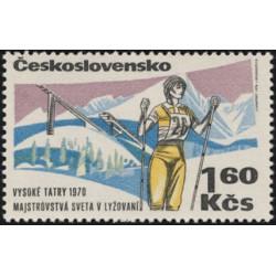 1807.- Mistrovství světa v lyžování ve Vysokých Tatrách 1975,**,
