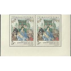 1695.,st, 37.kongres FIP- Albrecht Durer: Růžencová slavnost,**,