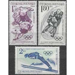 1353- 1355./3/, IX. Zimní OH Innsbruk 1964,**,
