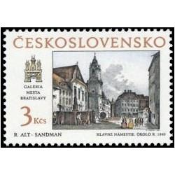 2868- 2869./2/, Bratislavské historické motivy,**,