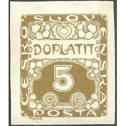 DL1.- Doplatní - ornamentální kresba,**,
