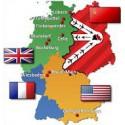 D. Německo zóny Deutsche Zone ,**,*,/*/,o,